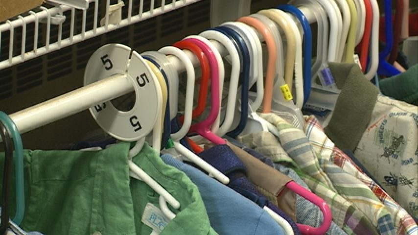 Local church provides free clothing to children in need