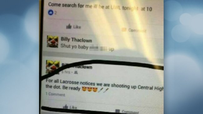 UPDATE: Online threat 'to shoot up school' prompts Central closure