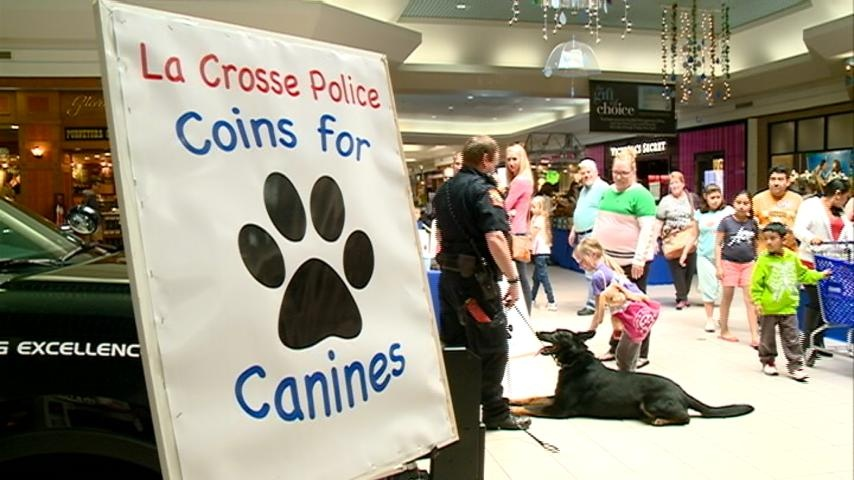 'Coins for Canines' raises money to help LCPD K9 unit