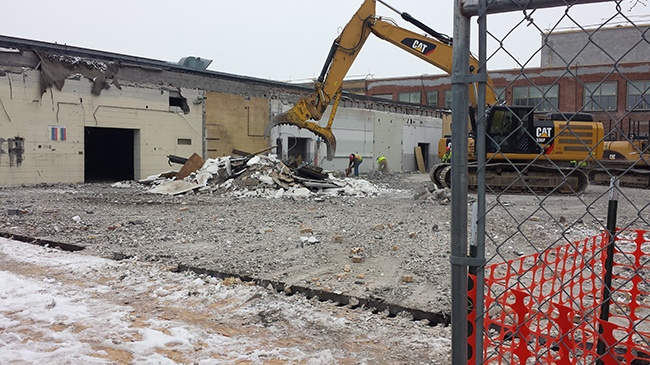 Western's Coleman Center demolished as part of construction project