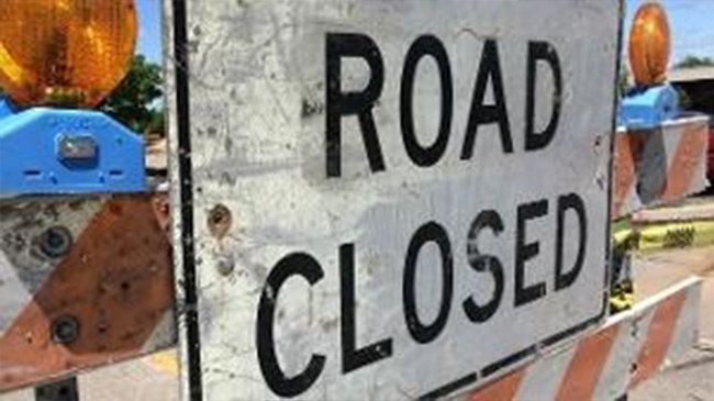 River Valley Drive closed temporarily