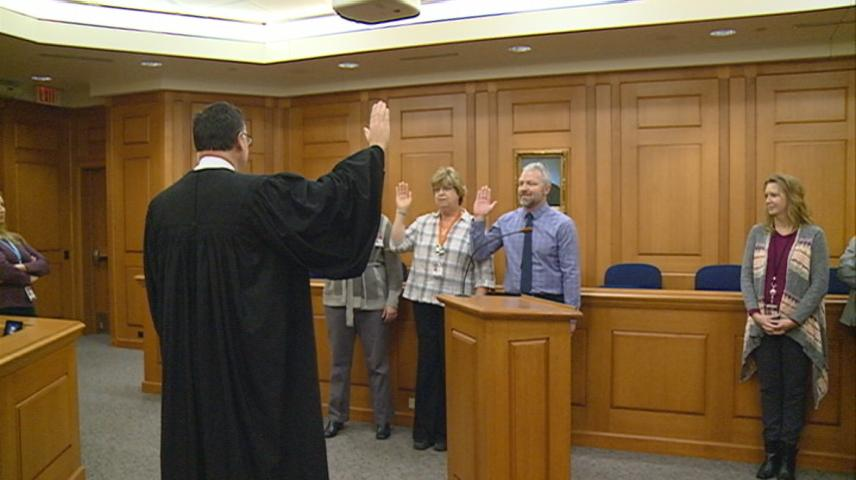 La Crosse County officials sworn in
