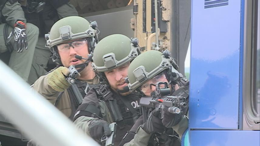 Emergency responders take part in mass casualty drill at La Crosse airport