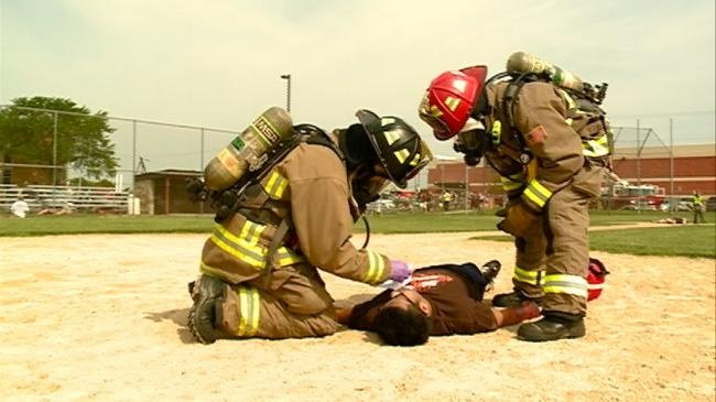 Local emergency response put to the test
