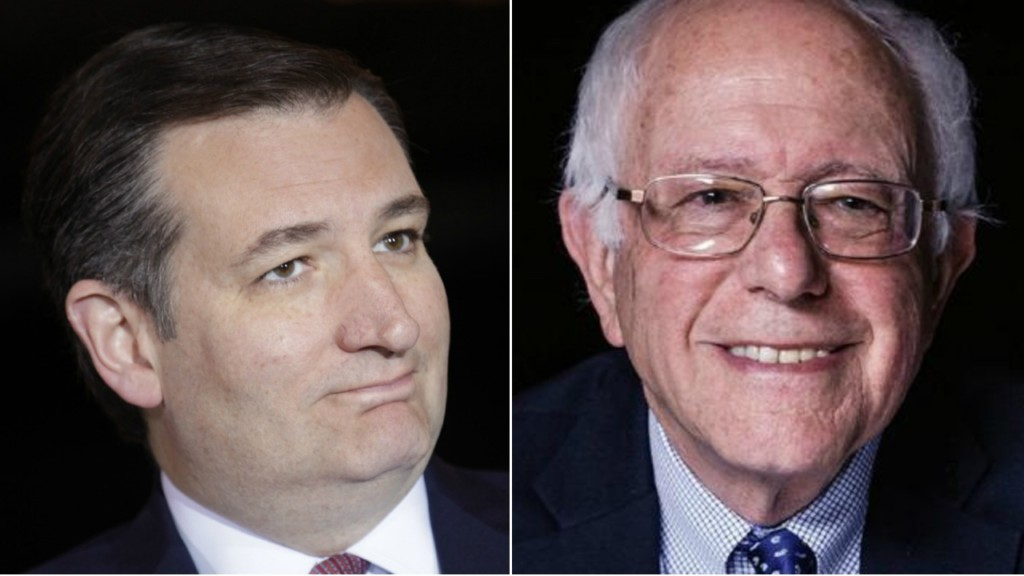 Cruz, Sanders win Wisconsin presidential primary