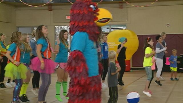 Dance Marathon helps local children with health problems