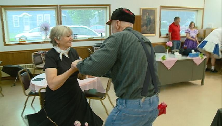 Senior Center party brings '50s back to life