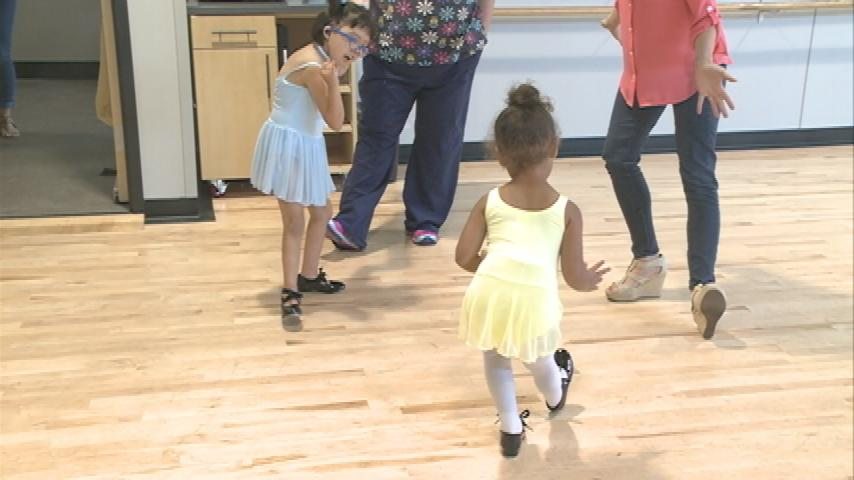 Helping foster kids through dance