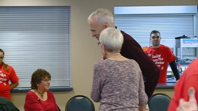 Seniors in Onalaska have a holiday dance party thanks to local students