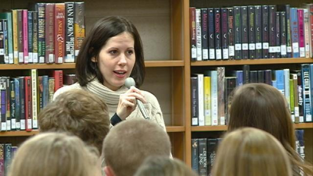 NY Times Bestselling Author speaks to Central High School students