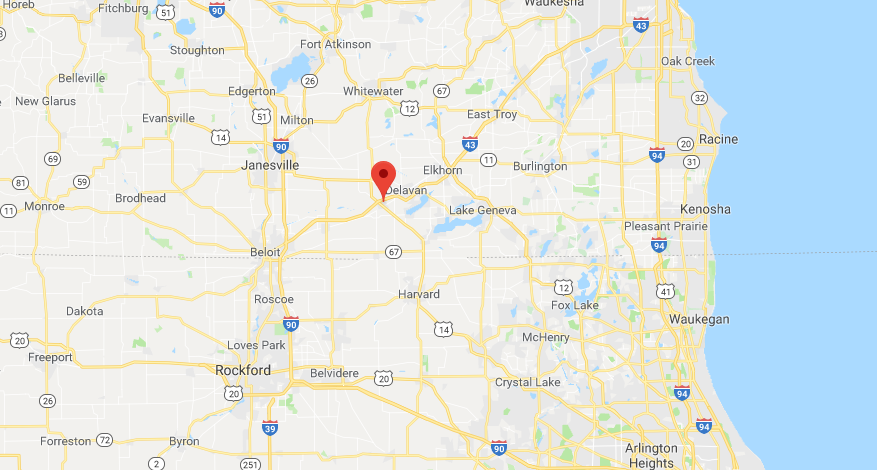 2 men dead, woman wounded in Walworth County shooting