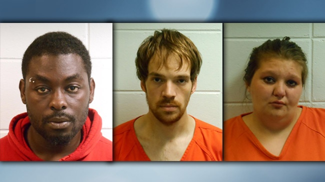 3 arrested for armed robbery at Sparta tavern