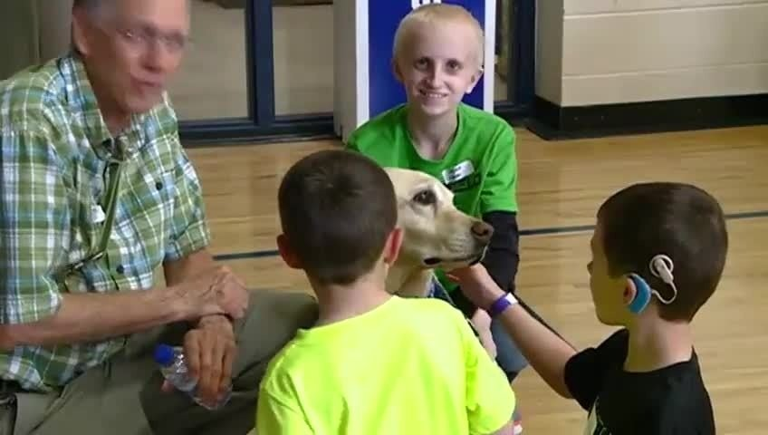 Deaf and Hard-of-Hearing Olympic Day brings role models to students