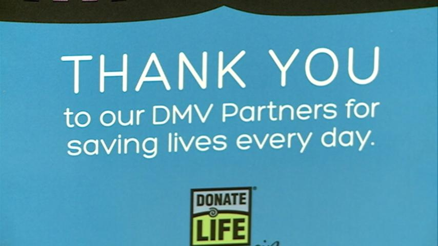 National DMV Appreciation Week honors those who help in organ donation