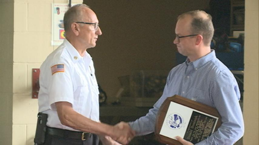 Onalaska Fire Chief retires after 40 years of service