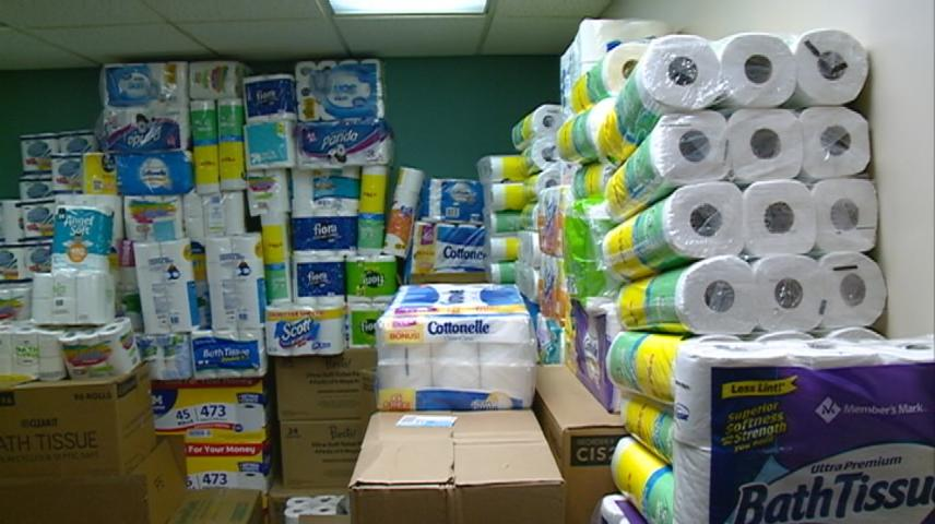 Mayo Clinic Health System donation competition results in 7,000 rolls of toilet paper