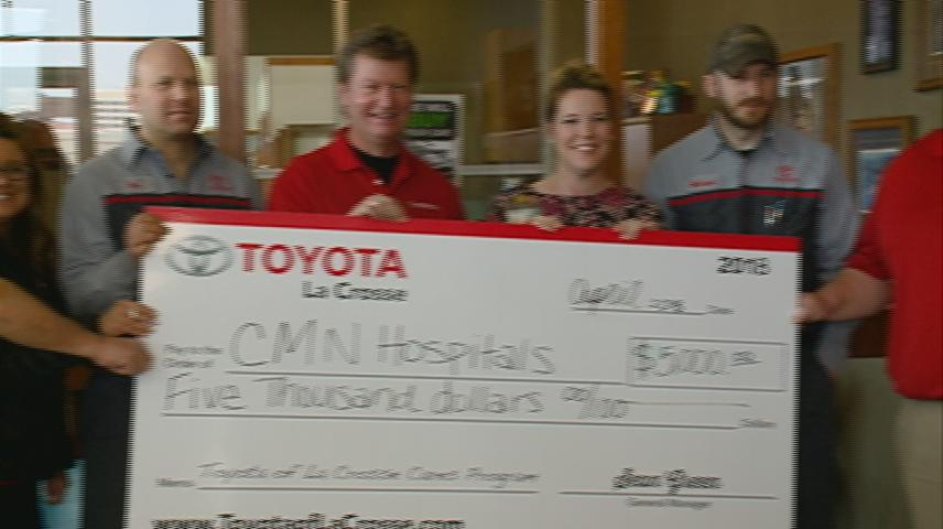 Children's Miracle Network receives donation to send diabetic kids to special summer camp