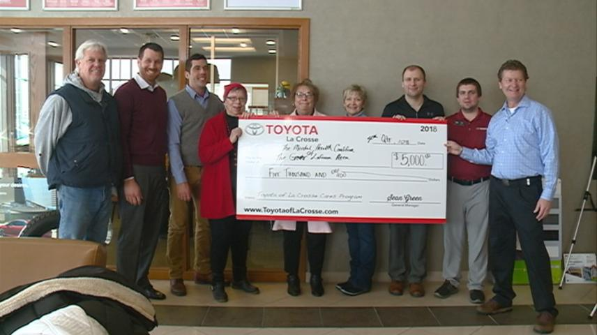 "La Crosse mental health efforts get a boost thanks to ""Toyota Cares"" program"