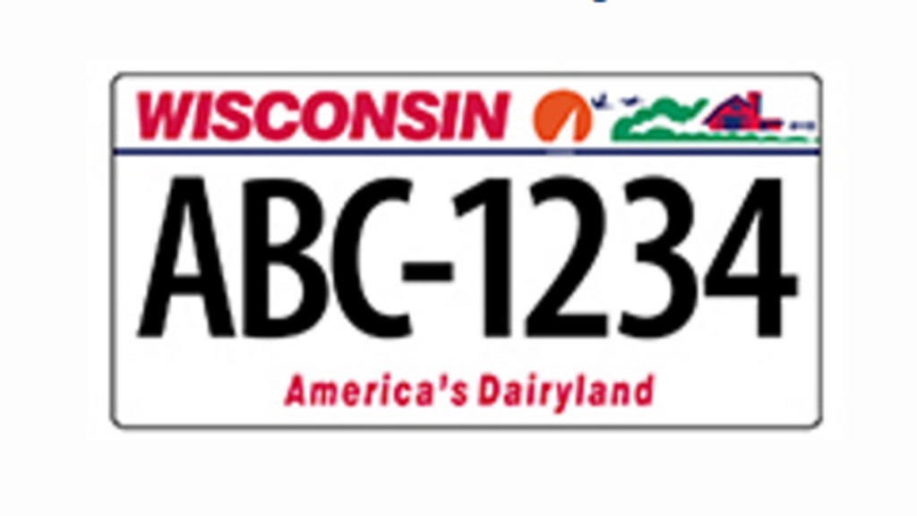 Bill would ask young Wisconsinites to redesign license plate