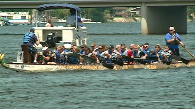 Paddling against breast cancer, Big Blue Dragon Boat Race brings in thousands