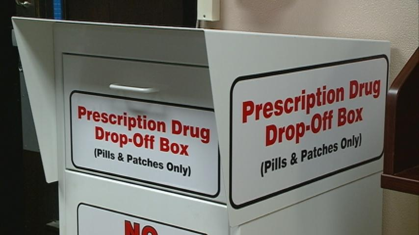 Prescription drug collection helps take unused drugs out of homes