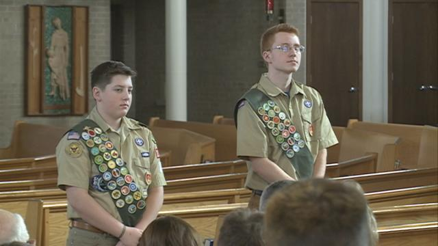Two local scouts awarded Eagle Scout status