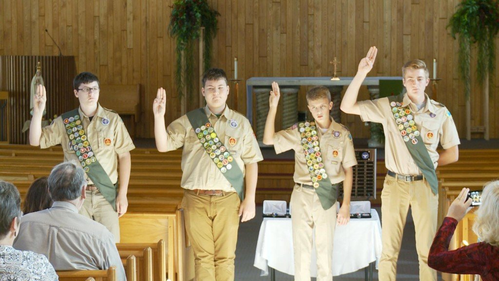 Four new Eagle Scouts honored at ceremony in Onalaska