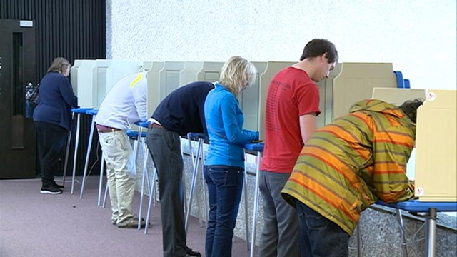 Election voting under way in Wisconsin