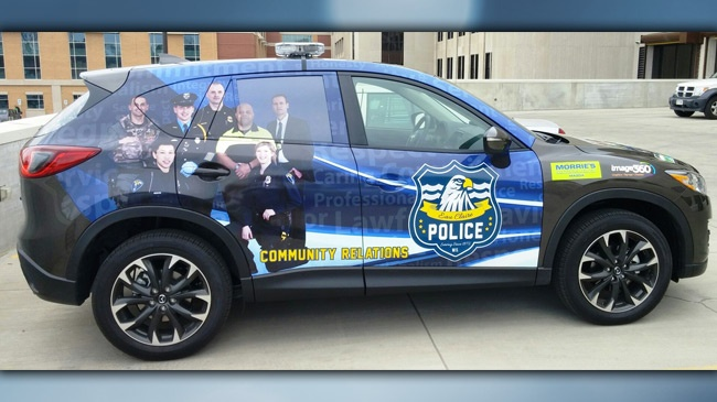 Eau Claire Police Dept. receives donated vehicle