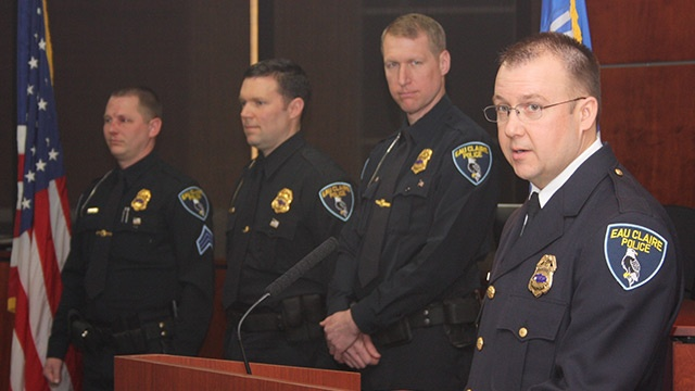 Eau Claire police officers promoted