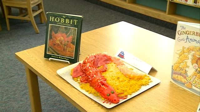 South Branch Library hosts Edible Book Fest