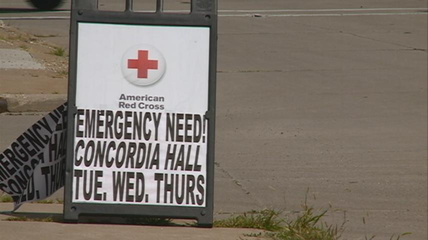 Blood drive in La Crosse helping bring in donations as Red Cross reports emergency need