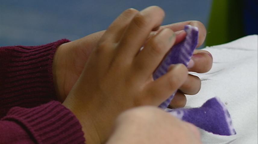La Crosse 3rd graders hand-make blankets for Salvation Army