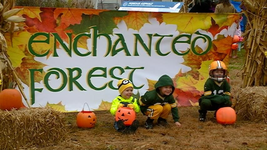 Enchanted Forest offers non-spooky trick-or-treating for kids