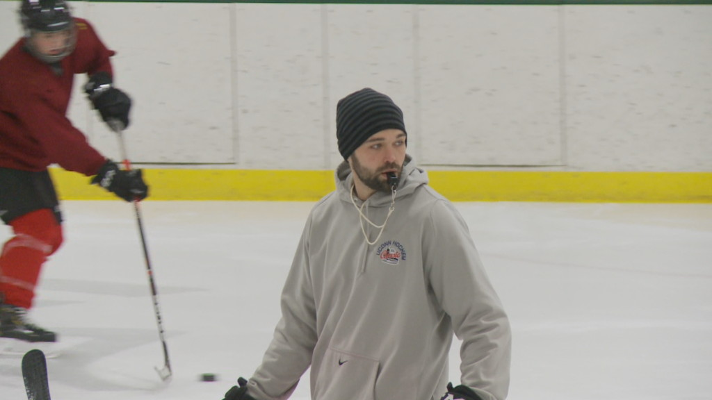 There and back again: Eriah Hayes enters first year as La Crescent hockey head coach