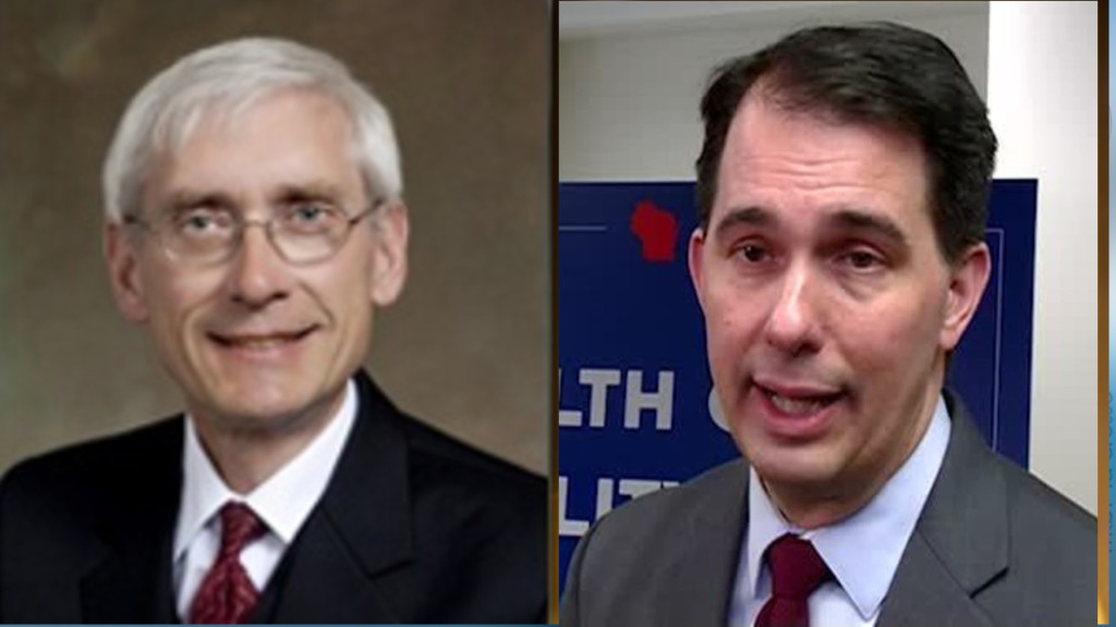 Walker, Evers tightest race in 50 years