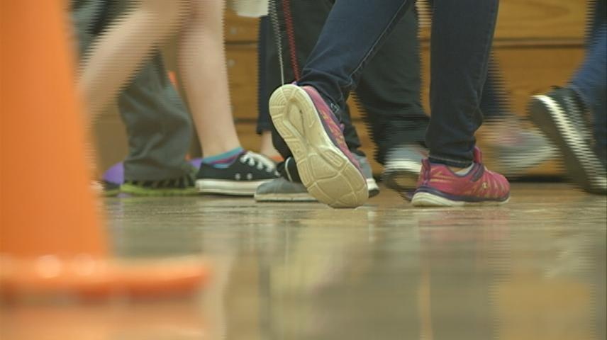 West Salem Middle School raises awareness for importance of physical activity