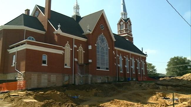 Church finds more than 100 unmarked graves during remodel
