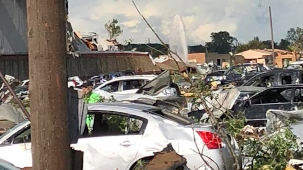 Courthouse tornado damage may take a year to repair