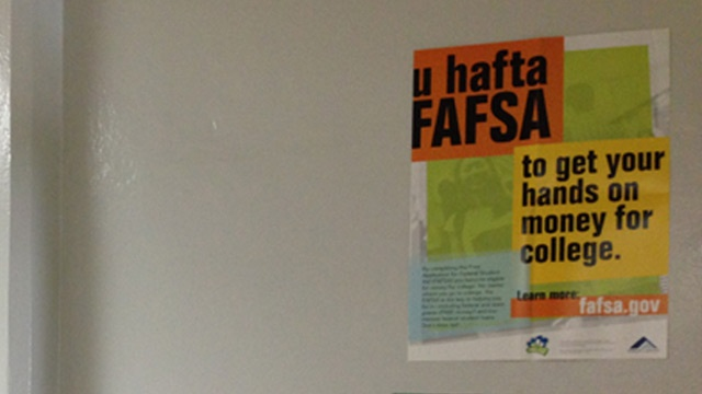 Students going to college can begin applying for FAFSA