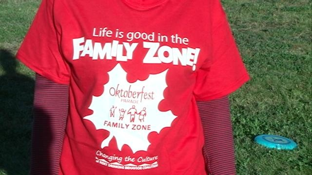 Family Zone offered alcohol-free area during Maple Leaf Parade