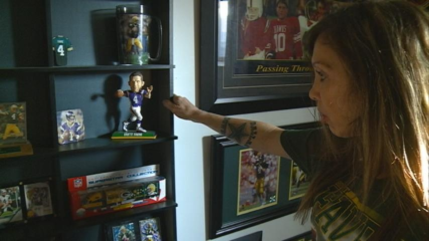 Meet the La Crosse area's biggest Brett Favre fan
