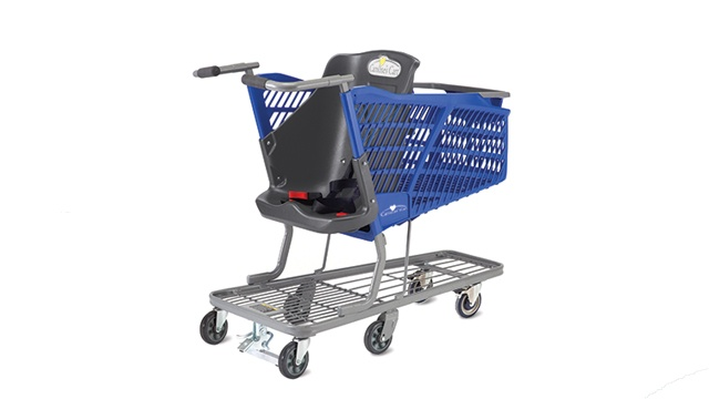 Festival Foods provides grocery carts for children with special needs