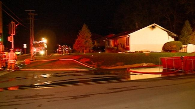 Shelby Fire Department responding to overnight house fire