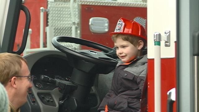 Fire department open house marks start of 'fire prevention year'
