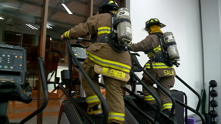 Firefighters prepare to climb 47 floors for good cause