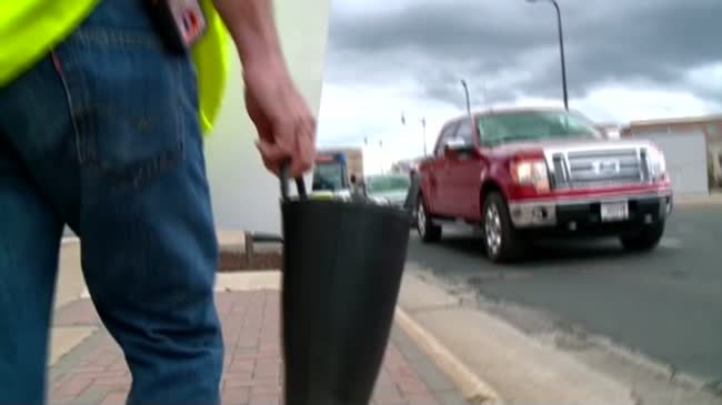 La Crosse firefighters 'fill the boot' for muscular dystrophy