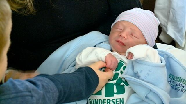 First baby of 2016 born in La Crosse