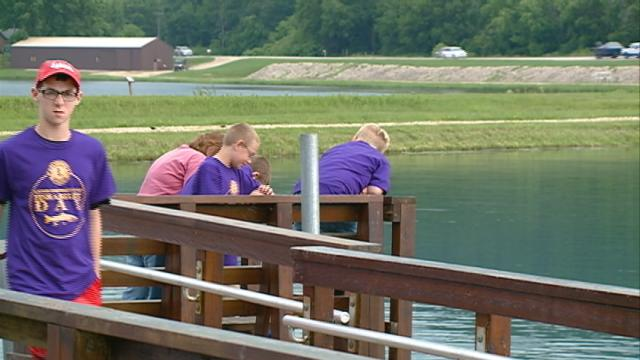 The youth of the Genoa area get a chance to fish, some for the first time