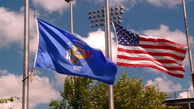 Flags flown at half-staff in Wisconsin